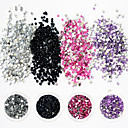 cheap Rhinestone & Decorations-1 pcs Glitter Powder Nail DIY Tools Nail Jewelry Lovely / 3D nail art Manicure Pedicure Daily Glitters / Crystal / Artistic