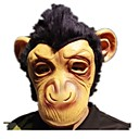 cheap Masks-Halloween Mask Animal Mask Monkey Horror Glue Pieces Unisex Adults' Gift