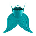 cheap Costume Wigs-Diving Fins / Swim Fins Portable, Mermaid, Short Blade Swimming, Diving, Snorkeling PE, TPR - for Kids Red / Green / Blue