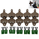 cheap Cellphone Case-Open Here Bottle Opener Vintage Style Wall Mount Man Cave Antique Bottle Beer Opener Hanging Wall Hook Beer-- 10 pcs