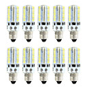cheap LED Corn Lights-BRELONG® 10pcs 4W 360lm E14 LED Corn Lights 80 LED Beads SMD 3014 Dimmable Warm White White 220V 110V
