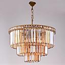 billige Originale lamper-QIHengZhaoMing 6-Light Anheng Lys Omgivelseslys - Krystall, Pære Inkludert, 110-120V / 220-240V Pære Inkludert / 15-20㎡ / E12 / E14