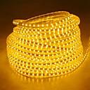 billige LED Strip Lamper-20m Lysslynger 1200 LED 5050 SMD Varm hvit / Hvit / Blå Vanntett 220 V / IP65