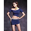 cheap Belly Dance Wear-Belly Dance Outfits Women's Performance Modal Short Sleeve Natural Skirts Top