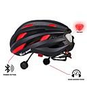 ieftine Cască-WEST BIKING® biciclete Casca / BMX Casca / Cască 16 Găuri de Ventilaţie CE Certificare Bluetooth, Multifuncțional, Lumini EPS, PC Ciclism