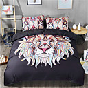 cheap Geometric Duvet Covers-Duvet Cover Sets Geometric 3 Piece Reactive Print 3pcs (1 Duvet Cover, 2 Shams)