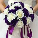 "baratos Bouquets de Noiva-Bouquets de Noiva Buquês Casamento Seda 9.84""(Aprox.25cm)"
