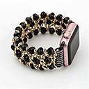 olcso Egy csomag hajat-Nézd Band mert Apple Watch Series 3 / 2 / 1 Apple Ékszer dizájn Kerámia Csuklópánt