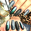 olcso Nail Glitter-1set 4db Púder / Glitter por / Nail Glitter Tükörhatás / Ragyogó és csillogó Körömművészeti tervezés