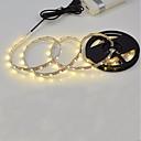 povoljno Dom i vrt-3M Savitljive LED trake 180 LED diode 2835 SMD Toplo bijelo / Bijela Cuttable / Samoljepljiva 5 V 1pc