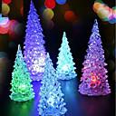 رخيصةأون زينة الإحتفالات-عطلة زينة ديكور عيد الميلاد المجيد أشجار الكريسمس / أضواء الكريسمس عطلة 1PC