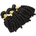 tanie Dopinki ombre-3 zestawy Włosy peruwiańskie Luźne fale Włosy naturalne Fale w naturalnym kolorze Ludzkie włosy wyplata Ludzkich włosów rozszerzeniach