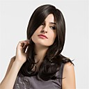 cheap Synthetic Capless Wigs-Synthetic Wig Natural Wave Synthetic Hair African American Wig Brown Wig Women's Medium Length Capless