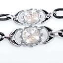 cheap Men's Bracelets-Men's / Couple's Leather Bracelet - Leather Crown Personalized, Fashion Bracelet Black For Going out / Valentine