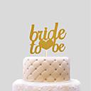 preiswerte Tortenfiguren & Dekoration-Tortenfiguren & Dekoration Hochzeit Herzen Papier Hochzeit mit 1 PVC Tasche