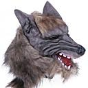 billige Masker-Halloween-masker Spøg og skæmt gadgets Halloweentillbehör Maskerademasker Dyremaske Nyhed Ulvehoved Gysertema Latex Gummi Stk. Unisex