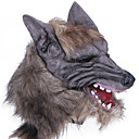 cheap Stress Relievers-Halloween Mask Practical Joke Gadget Halloween Prop Masquerade Mask Animal Mask Novelty Wolf Head Horror Latex Rubber Pieces Unisex