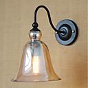 olcso Fali rögzítők-Egyszerű Vintage Retro Ország Fali lámpák Kompatibilitás Fém falikar 110-120 V 220-240 V 40W