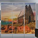 cheap Window Film & Stickers-Print Christmas Window Sticker, PVC/Vinyl Material Window Decoration Living Room