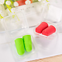 cheap Travel Comfort-Ear Plugs Soft / Travel 2.5*1.2*1.2cm Travel Solid Colored
