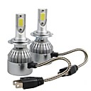 cheap Car Light Accessories-2pcs H7 Car Light Bulbs 36W W COB 3800lm lm 2 Headlamp Foruniversal All Models All years