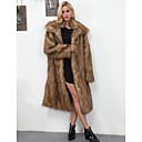 cheap Wedding Wraps-Women's Going out / Work Vintage / Active Faux Fur Fur Coat - Solid Colored