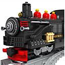 povoljno Building Blocks-AUSINI Kocke za slaganje Mrtva priroda / Vozila / Train Classic & Timeless / Chic & Moderna / Moda Vlak Poklon