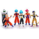 cheap Anime & Manga Dolls-Sun WuKong Son Goku Action & Toy Figure Anime & Manga Novelty Plastic Men's Boys' Girls' Toy Gift 6 pcs