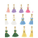 cheap Earrings-Women's Tassel Drop Earrings / Hoop Earrings - Tower Tassel, Cute Green / Blue / Pink For School / Date