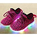 abordables Zapatos de Niña-Chica Zapatos Punto Invierno Otoño Confort Zapatillas de deporte para Casual Negro Rojo Verde Azul