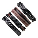 cheap Men's Bracelets-Men's / Women's Wrap Bracelet / Leather Bracelet - Leather Bohemian Bracelet Black For Casual / Going out