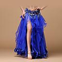 ราคาถูก ชุดเต้นระบำหน้าท้อง-ชุดเต้นระบำหน้าท้อง ด้านล่าง สำหรับผู้หญิง Performance เส้นใยสังเคราะห์ / ซาติน จับย่น ปรับตัวลดลง กระโปรง