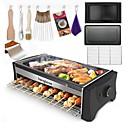 preiswerte Entsafter-Elektrische Bratpfannen & Grill Multifunktion Edelstahl Elektrische Grills und Grills 220V 1300W Küchengerät