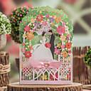 tanie Zaproszenia ślubne-Wrap & kieszonkowy Zaproszenia ślubne Zaproszenia Klasyczny styl Wytłaczany papier