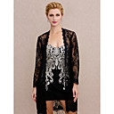 cheap Abstract Paintings-Lace Wedding / Party / Evening Women's Wrap With Lace Coats / Jackets