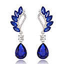 cheap Jewelry Sets-Women's Drop Earrings - Drop Red / Green / Blue For Wedding Party