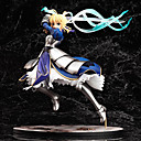 billige Anime actionfigurer-Anime Action Figurer Inspirert av Fate / Stay Night Saber Altria Pendragon PVC 25 cm CM Modell Leker Dukke
