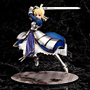 halpa Anime-figuurit-Anime Toimintahahmot Innoittamana Fate / stay night Altria Pendragon PVC 25 cm CM Malli lelut Doll Toy