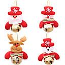 baratos Decorações Natalinas-Decorações de férias Animais / Vida Imóvel / Boneco de Neve Enfeites de Natal Férias 1pç