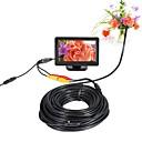 billige Veggklistremerker-av endoskop kamera 5v 5,5 mm objektiv mini kamera ntsc vanntett ip66 inspeksjon borescope slange pipe kamera nattesyn 20m kabel