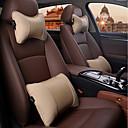 זול שטיחים לפנים הרכב-משענת ראש לרכב משענת ראש & ערכות מותן כרית עור עבור אוניברסלי כל השנים גנרל מוטורס