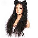 cheap Human Hair Wigs-Human Hair Full Lace Wig Brazilian Hair Deep Wave Wig Layered Haircut / With Baby Hair 130% Natural Hairline / For Black Women / 100% Virgin Women's Short / Medium Length / Long Human Hair Lace Wig