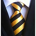baratos Camisas, Shorts & Calças de Corrida-Homens Trabalho / Básico Gravata Listrado