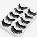 cheap Eyelashes-5 Daily Makeup Full Strip Lashes Thick Lengthens the End of the Eye Makeup Tools High Quality Daily