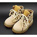 olcso Fiú cipők-Fiú Cipő Fordított bőr Ősz / Tél Kényelmes / Katonai csizmák Csizmák mert Fekete / Sárga / Katonai zöld