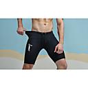 abordables Zapatillas de Hombre-Hombre Ajustado / Delgado / Shorts Pantalones - Letra Estampado Negro / Deportes
