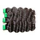 cheap One Pack Hair-Indian Hair Body Wave Remy Human Hair Natural Color Hair Weaves / Hair Bulk Human Hair Weaves Human Hair Extensions