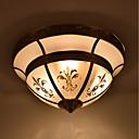 baratos Adaptadores de Rede-3-luz Montagem do Fluxo Luz Ambiente Bronze Polido a Óleo Metal Vidro Estilo Mini 110-120V / 220-240V Lâmpada Não Incluída / E26 / E27