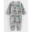 preiswerte BabyJungenoverall-Baby Jungen Mit Mustern Langarm Baumwolle Anzug & Overall