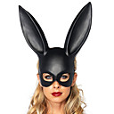 cheap Masks-Halloween Mask Masquerade Mask Animal Mask Rabbit Novelty Romance Rabbit Animal Cowgirl Adults' Boys' Girls' Toy Gift 1 pcs